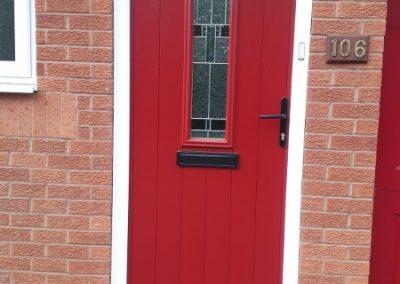 Red Composite Door (450x800)
