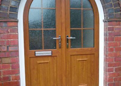 UPVC Arched Door (600x800)